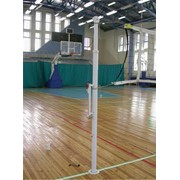 Стойка телескопическая волейбольная фото