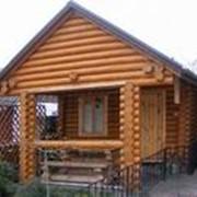 Баня деревянная фото