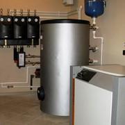 Монтаж инженерных систем отопления фото
