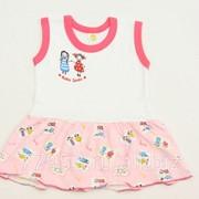 Платье-сарафан baby smile 3852-к-14 кулирная гладь, размер 56-104 фото