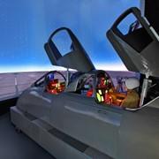 Комплексные тренажеры экипажа самолета фото