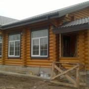 Строительство деревянных домов, бань фото