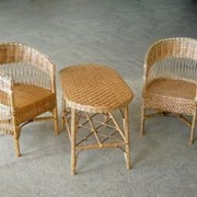 Стол и два кресла фото