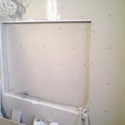 Облицовка стен гипсокартоном фото