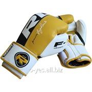 Боксерские перчатки RDX Yellow Pro фото