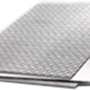 Алюминиевый рифленый лист фото