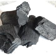 Уголь древесный в упаковке (бумажный мешок) фото