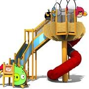 Проектирование и производство детских аттракционов фото