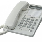 Телефон Panasonic KX-TS2362UAW White фото