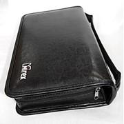 Сумка-портмоне Mirex кож/зам, 100 CD, чёрный фото