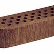 Кирпич облицовочный керамический Terca (Wienerberger) Terra радиусный шероховатый пустотелый, 250х85х65 фото