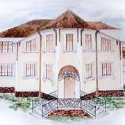 Эскизное проектирование дизайна фасадов и интерьеров.