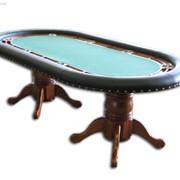 Столы для спортивного покера, Столы, стулья, кресла для казино фото