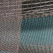 Сетка тканая оцинкованная 1.2x1.2x0.45 ГОСТ 3826-82, сталь 3сп5, 10, 20 фото