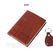 Обложка для водительского удостоверения с брелком JEEP, 065-07-08К фото