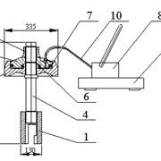 Съемник гидравлический с гидроприводом СГП-125 фото