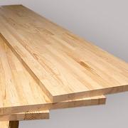 Мебельный щит сосновый, 38 мм фото