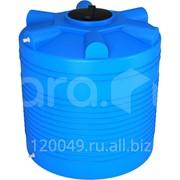Пластиковая ёмкость для воды 1000 л с отводами Арт.ЭВЛ 1000 о фото