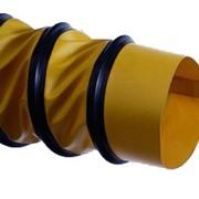 Шланг для вентиляции и кондиционирования PS-L жёлтый фото