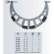 Микрометр со скобой ISOMASTER серии АВY с регулируемым индикатором часового типа фото