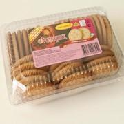 Печенье сахарное Фонарик 0,52кг (пластиковая коробка) фото