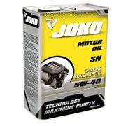 Моторное масло JOKO GASOLINE 100% Syn SN 5w-40 4л фото
