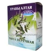Мята перечная, трава. Чайный напиток, Травы Алтая, 50 г фото