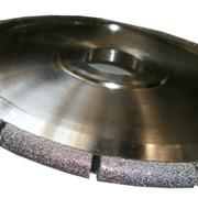 Фреза HXDW001 Electroplated канелюрная профиль R7 d300хh15х60мм grit 30/40 фото