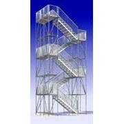 Лестничная башня Allround 500 фото