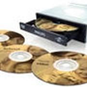 Тиражирование CD, DVD дисков (информации) фото