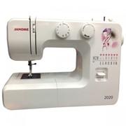 Машины бытовые швейные Швейная машина JANOME 2020 (15 строчек, регулятор длины стежка и ширины зигзага) New фото