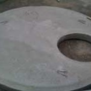 Плиты перекрытия колодцев с замком П-20ч фото