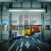 Ворота промышленные рулонные фото