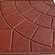 Квадратная однотонная плитка PlayMix, сетка, паутинка для пешеходных дорожек фото