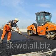 Дорожное строительство, Шарапово фото