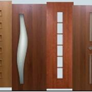 Двери шпонированные ценными породами дерева фото