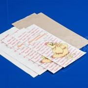 Пакеты бумажные фольгированные и ламинированные для шаурмы, сандвичей, хот-догов и пр. фото