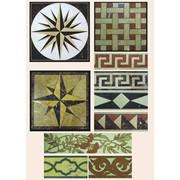 Орнаменты мозаики для покрытия полов мозаичных фото