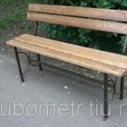 Садовые скамейки уличные 2м фото