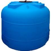 Пластиковая емкость объемом 4500 л с крышкой 380 мм (код 4500BФК2) фото
