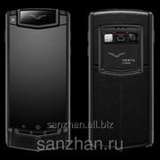 """Телефон Vertu Ti Android 4.2 MTK6589 4 ядра RAM 1 gb ROM 8 gb 3,7"""" з/у Vertu на 6000 Am. TITANIUM black LEATHER 86374 фото"""