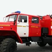 Автоцистерна пожарная АЦ 8,0-40 Урал 4320-40 экипаж 6 чел., насос в заднем отсеке фото