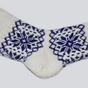 Изделия чулочно-носочные шерстяные ручной работы фото