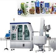 Коробка типа упаковки для Сока для Молока разливочная машина фото