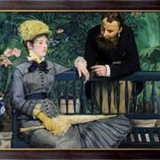 Картина В консерватории , Мане, Эдуард фото