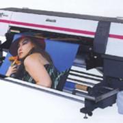 Широкоформатный текстильный принтер фото