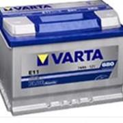 Аккумуляторные батареи VARTA фото