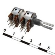 Резистор переменный 16K4 KC 4x50k фото