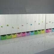 Шкафчики для детского сада. Коллекция Полет. фото