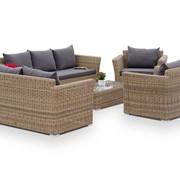 Комплект плетеной мебели Капучино Дабл фото